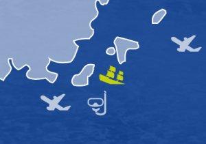 Wrak parowca Brioni wyspa Ravnik -