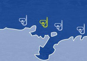 Miejsca nurkowe na wyspie Vis -