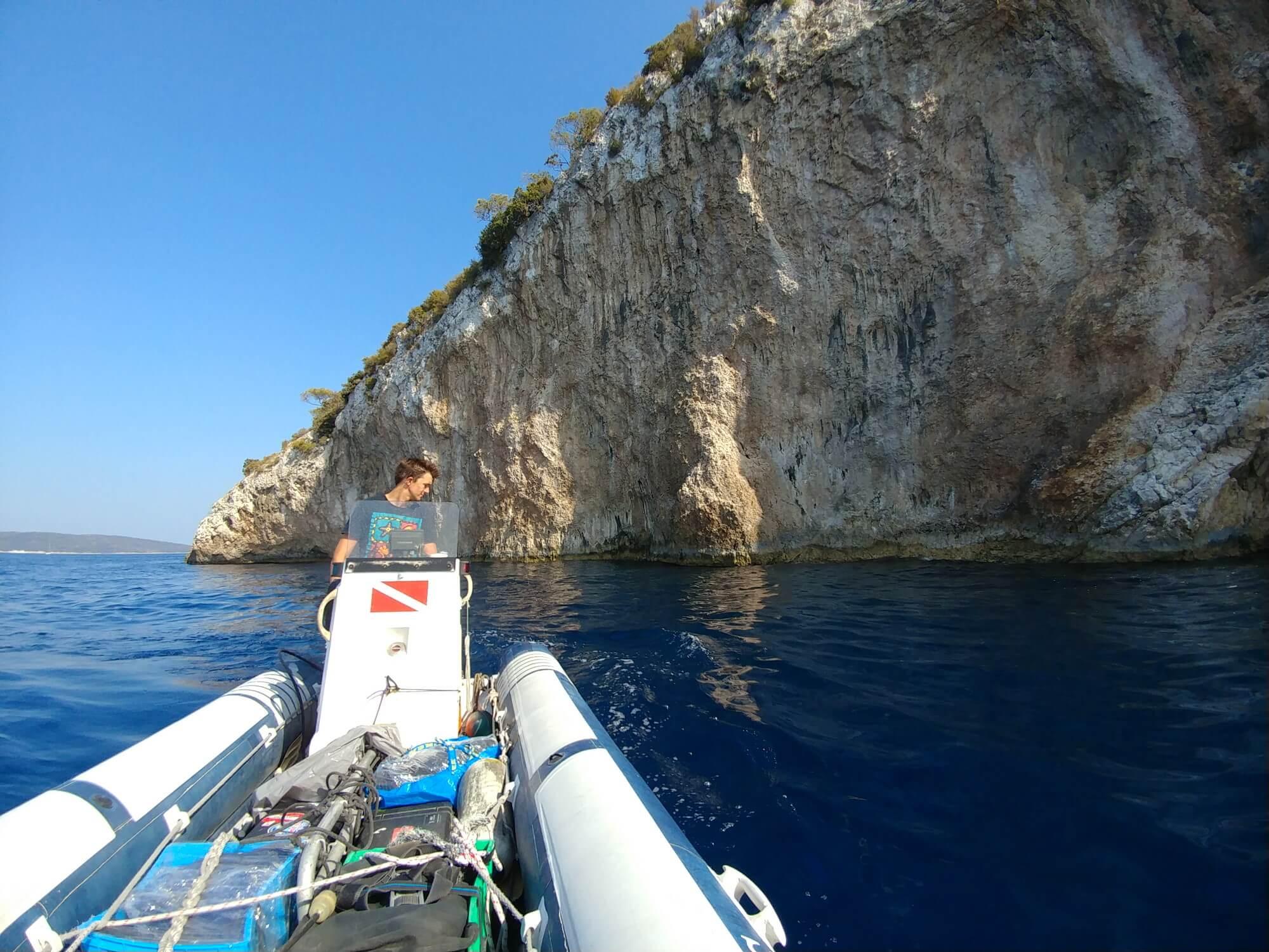 Nurkowy maj 2021 na wyspie Vis w Chorwacji -