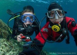 Baza nurkowa na wyspie Vis -