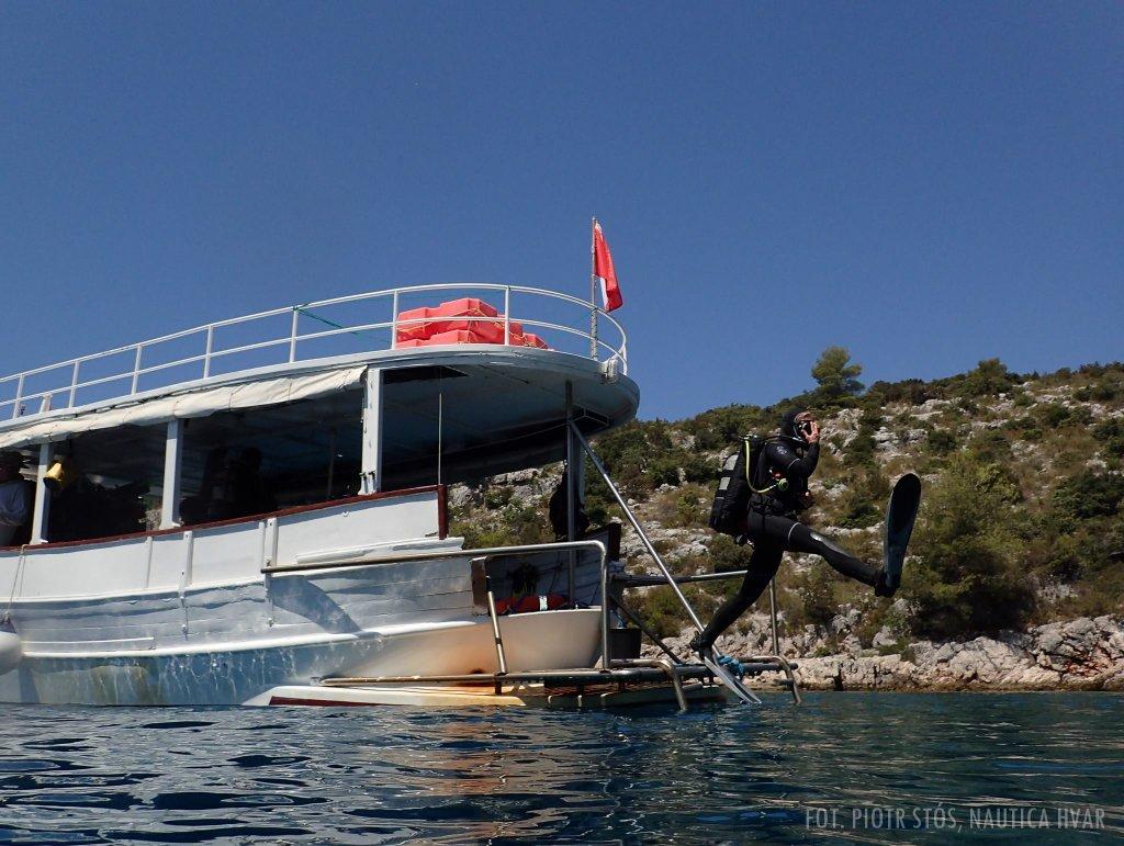 Zaawansowany kurs nurkowania w Chorwacji -