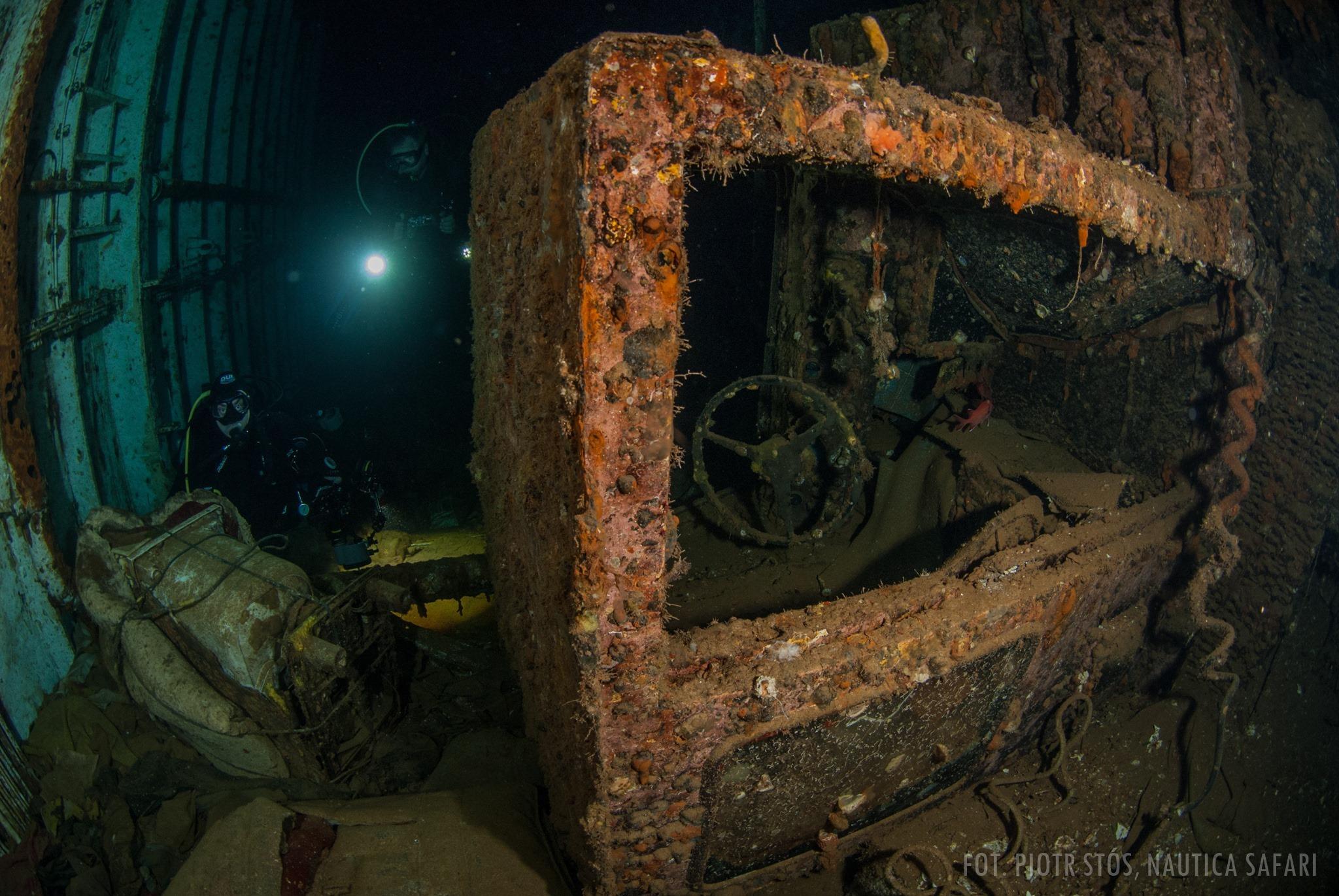 Salem Express - nurkowanie na wraku z tragiczną historią w tle -