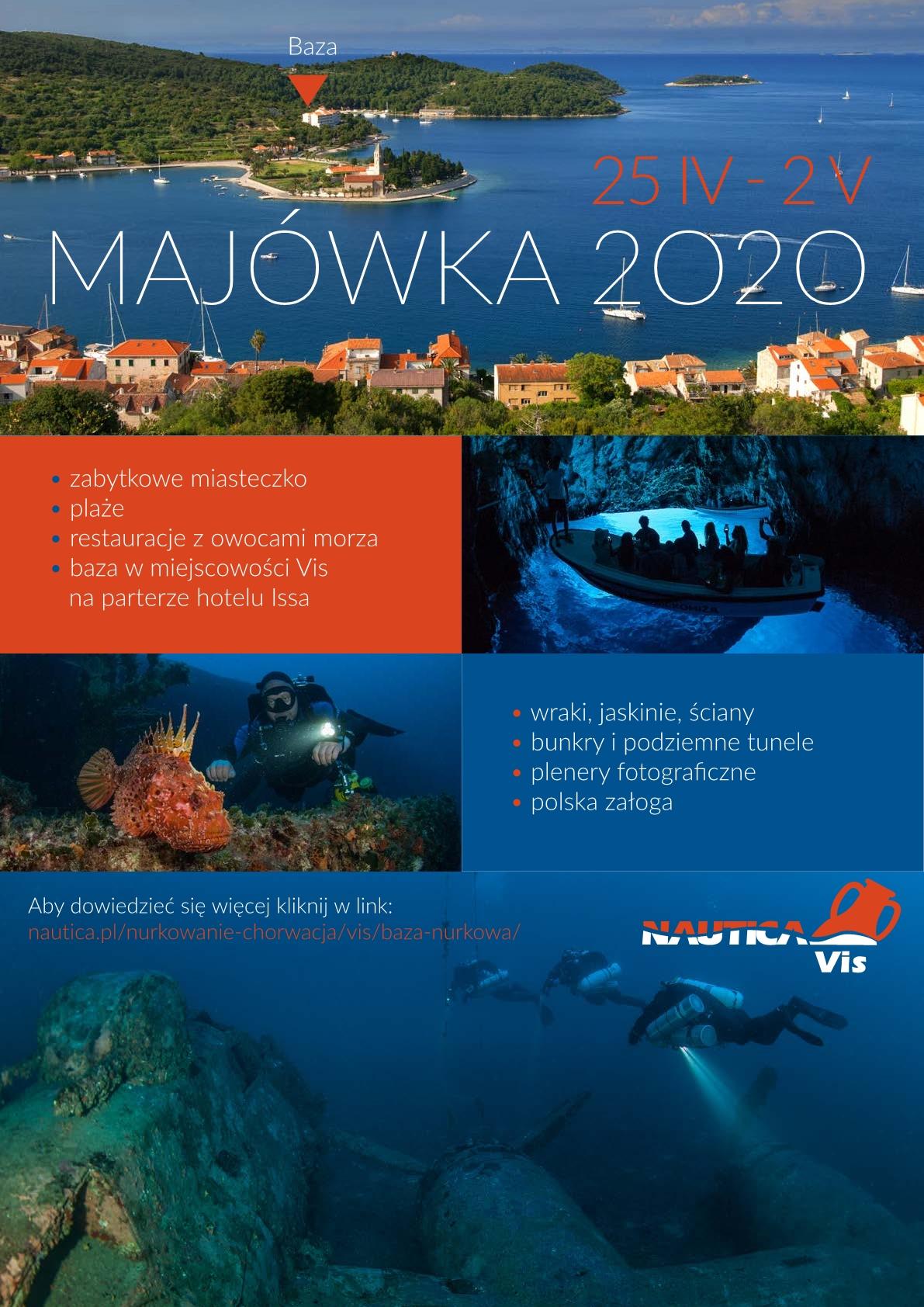 Majówka 2020 - Chorwacja / Vis -