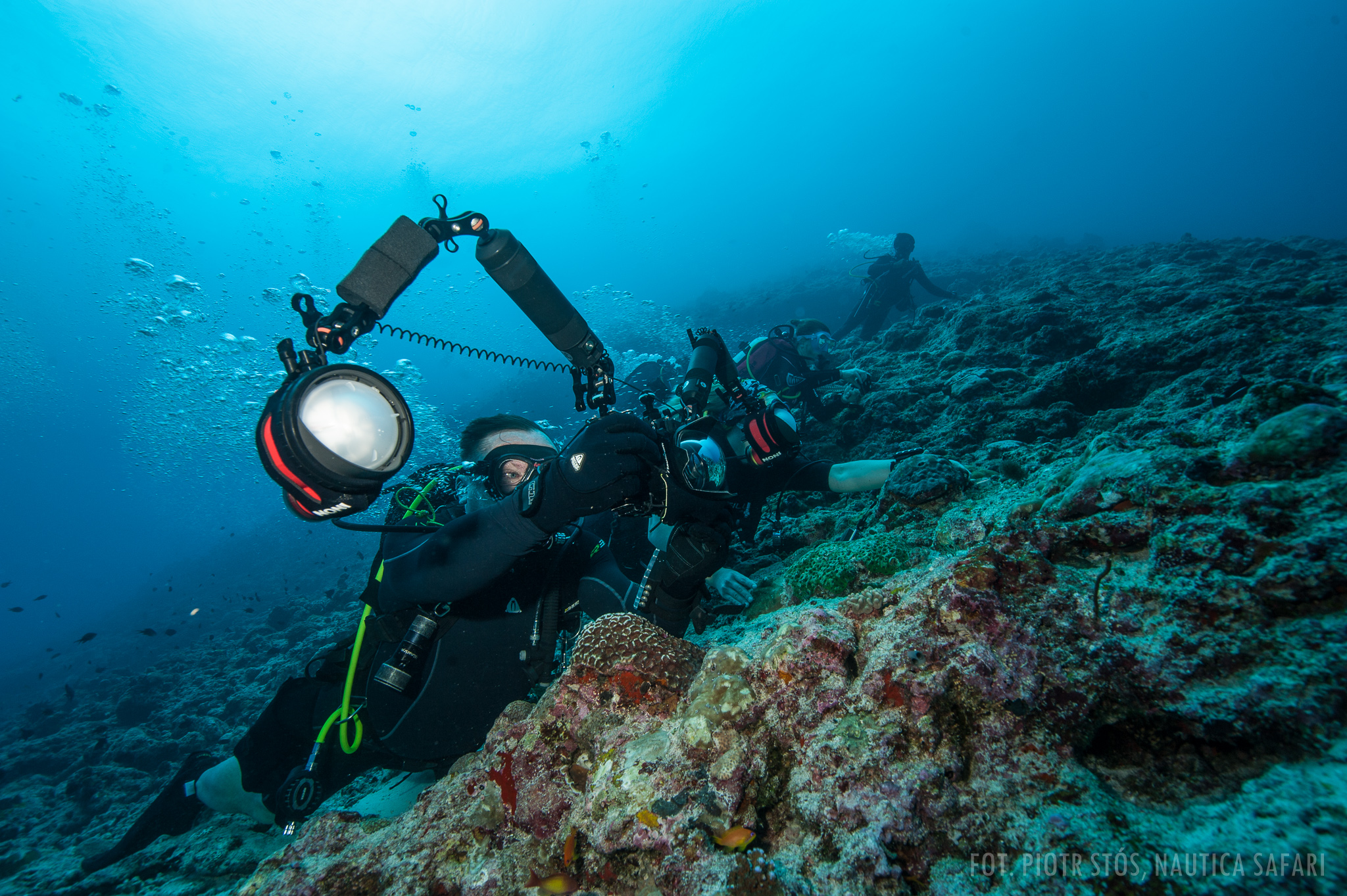 Malediwy: zdjęcia z wyprawy nurkowej NAUTICA -