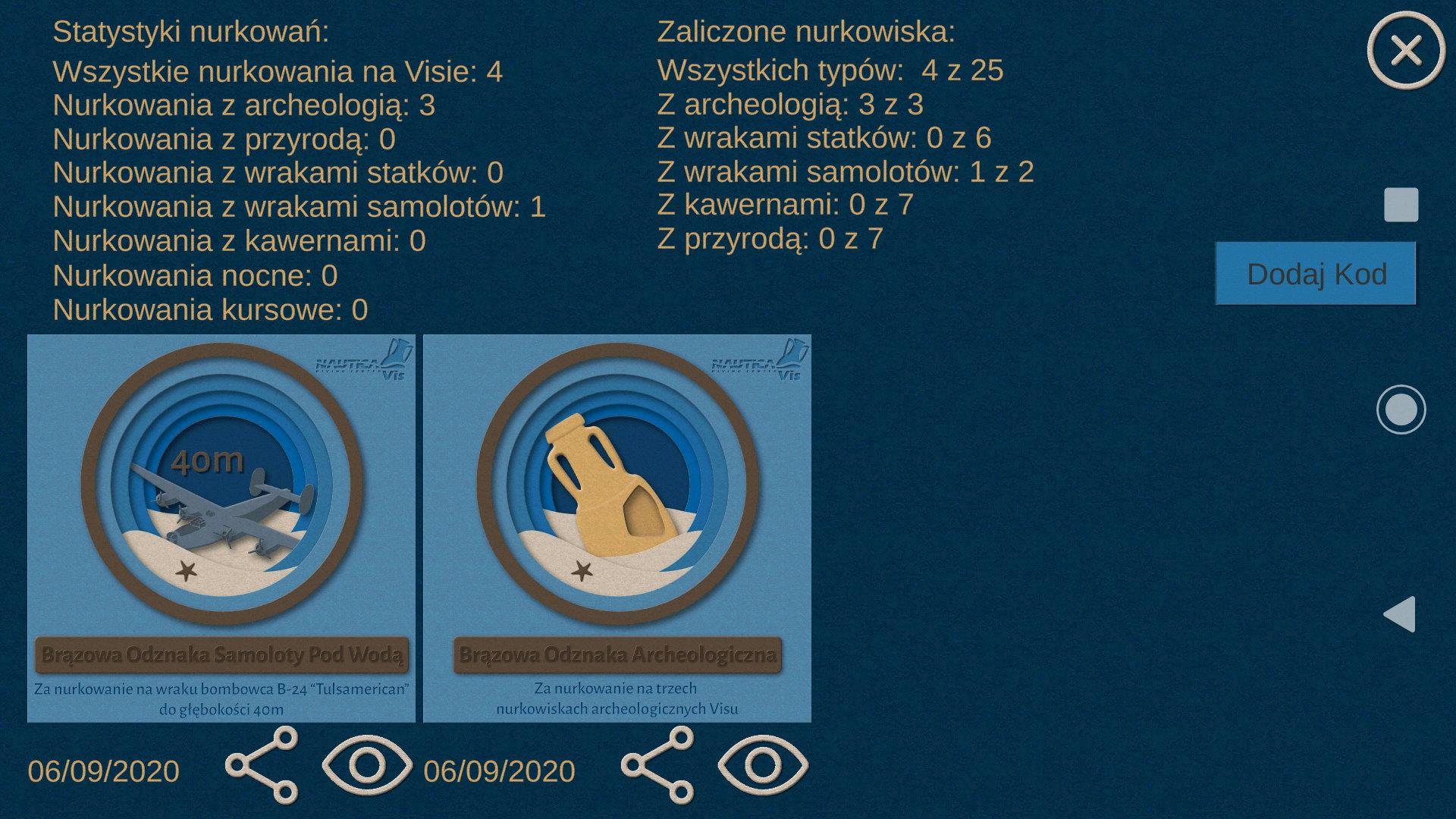 Aplikacja NurkoViska -