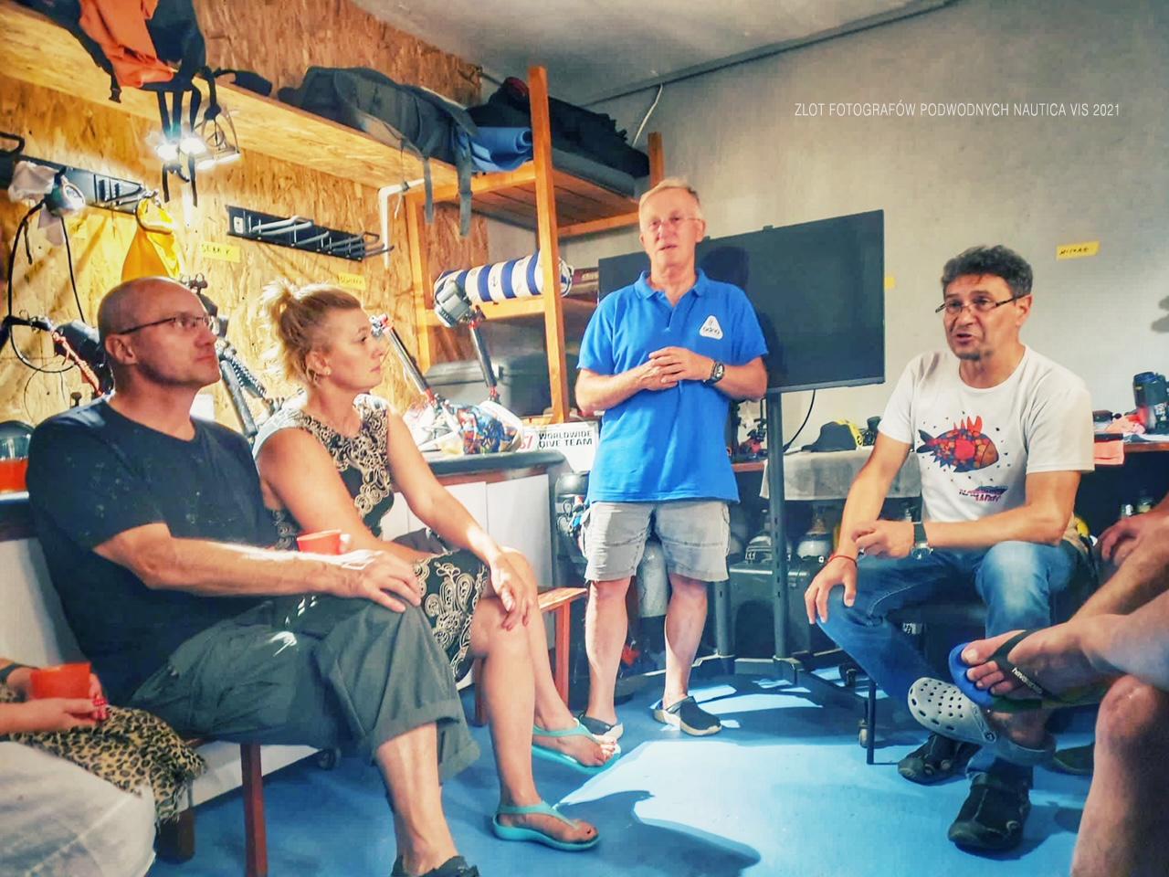 Zlot Fotografów Podwodnych Vis 2021 -